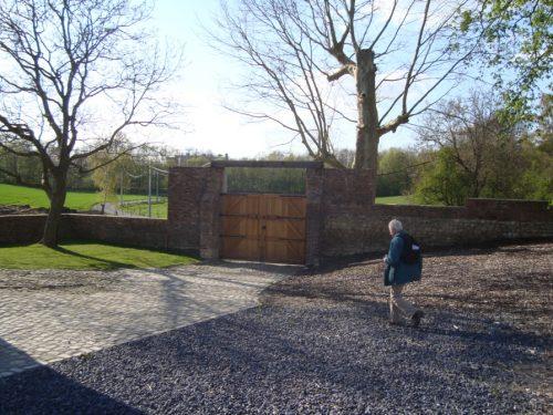 Gate at Hougoumont Farm
