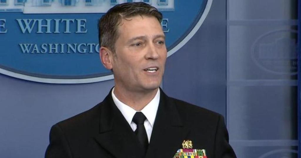 Dr. Ronny Jackson withdraws nomination to be Secretary for the Department of Veterans Affairs.