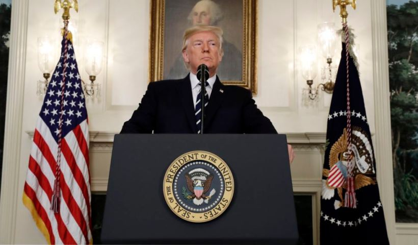 BREAKING Trump announces final decision on Iran deal