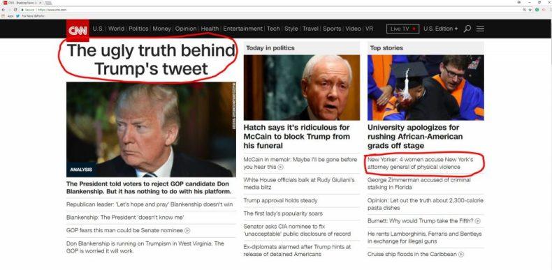 Trump latest news
