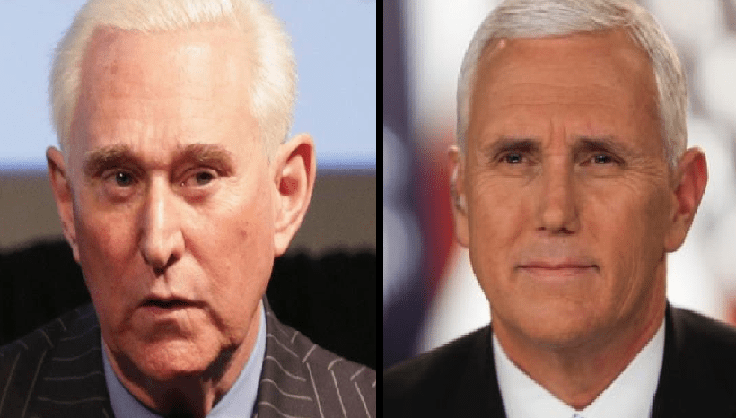 Roger Stone vows to run candidate against Pence if he makes 2020 bid