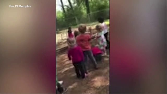 Daycare Teacher orders children to throw rocks at a classmate to 'teach him a lesson'