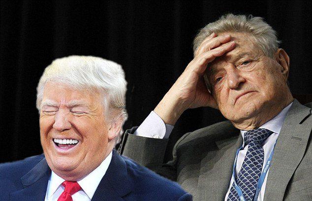 George Soros admits he's losing to Trump