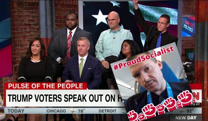 CNN Caught Using an Anti-Trump Socialist Pretending to be a Trump Supporter
