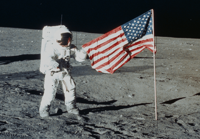 First Man movie leaves out moment US flag planted on Moon because it 'transcends countries and borders'