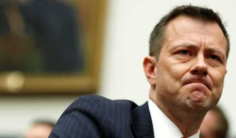 Peter Strzok will have to wait for that CNN job as he's under investigation