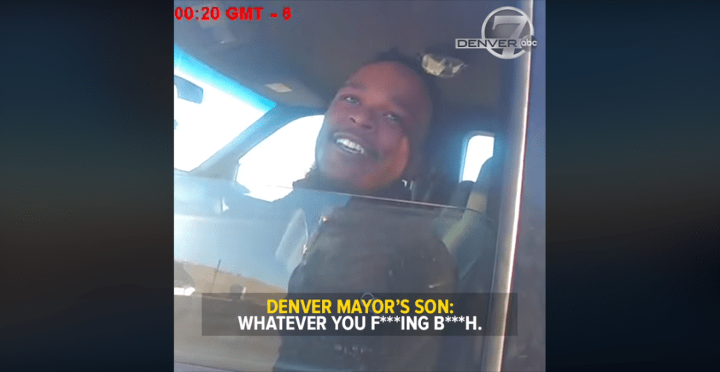 Two Colorado police officers suspended after post video of Mayors son insulting them