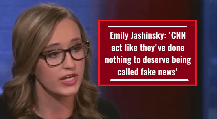 Emily Jashinsky 'CNN act like they've done nothing to deserve being called fake news'