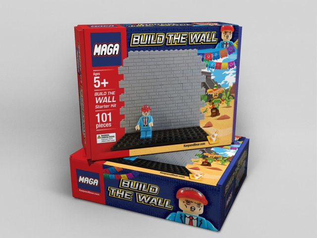 Build the Wall' toy