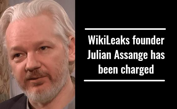 WikiLeaks founder Julian Assange has been charged