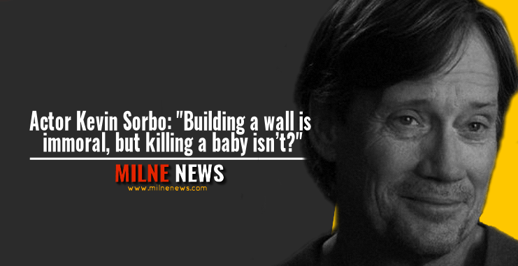 """Actor Kevin Sorbo: """"Building a wall is immoral, but killing a baby isn't?"""""""