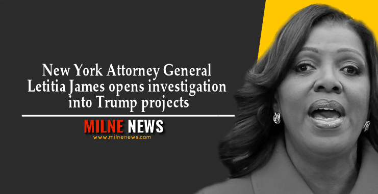 New York Attorney General Letitia James opens investigation into Trump projects