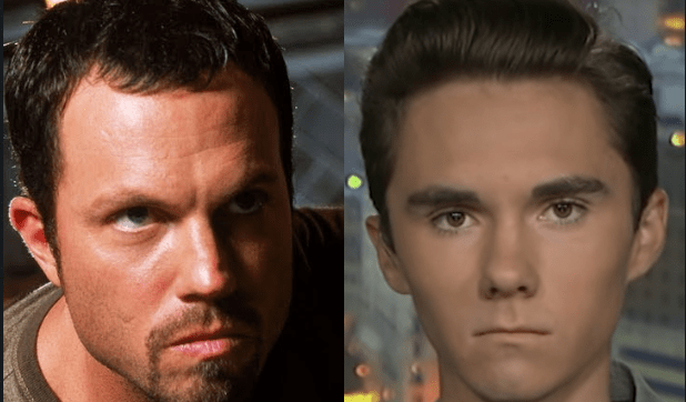 Adam Baldwin schools David Hogg on fascism