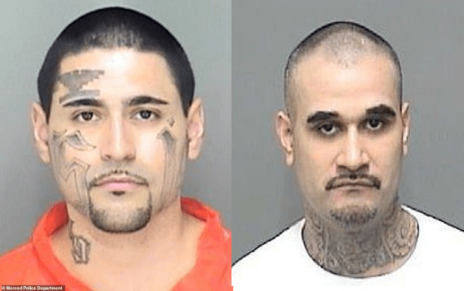 California gang members laugh while receiving life sentences for attempted murder of police officer