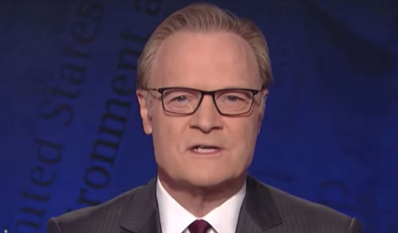MSNBC's Lawrence O'Donnell apologizes for unverified Trump finance story