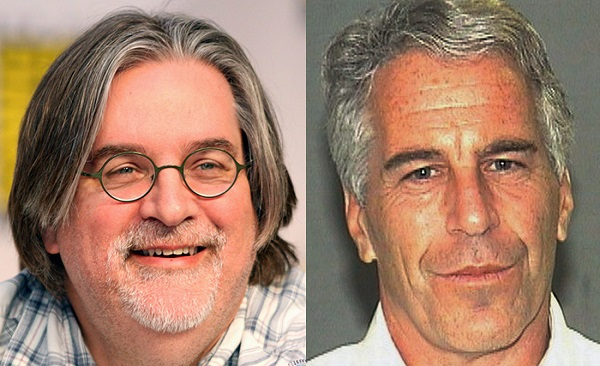 Matt Groening received foot massage from 16-year-old on Epstein's lolita express, court documents say