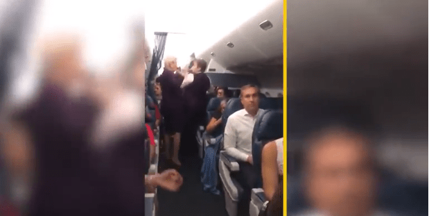 VIDEO: Fights break out between passengers on delayed Delta flight at JFK airport
