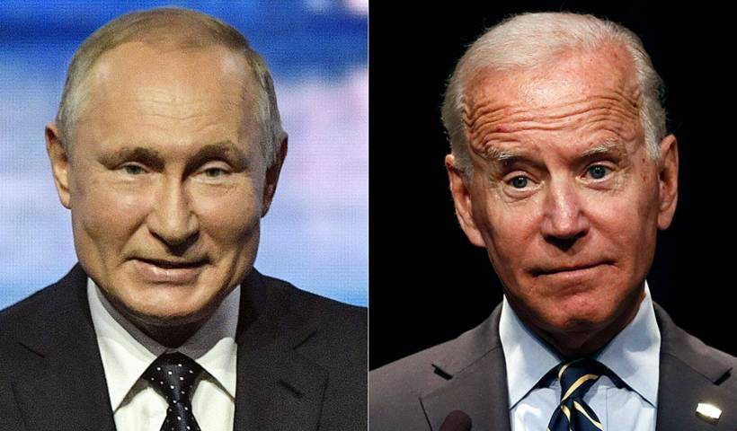 Joe Biden claims he once told Russian President Vladimir Putin: 'I don't think you have a soul'