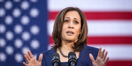 Kamala Harris apologizes for her response to offensive remark about President Trump