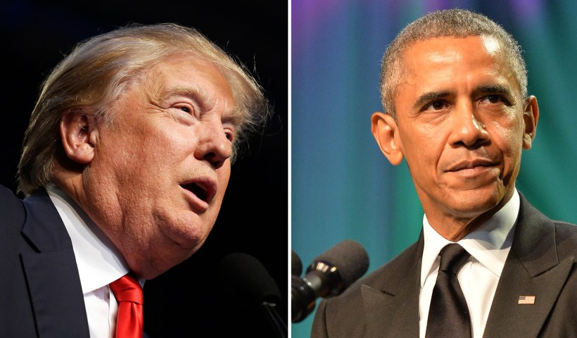 Trump blasts Obama's 'totally illegal' DACA order, says he didn't have the right to sign it