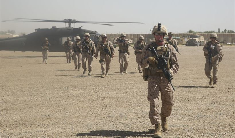 US reaches deal 'in principle' to withdraw 5,400 troops from Afghanistan