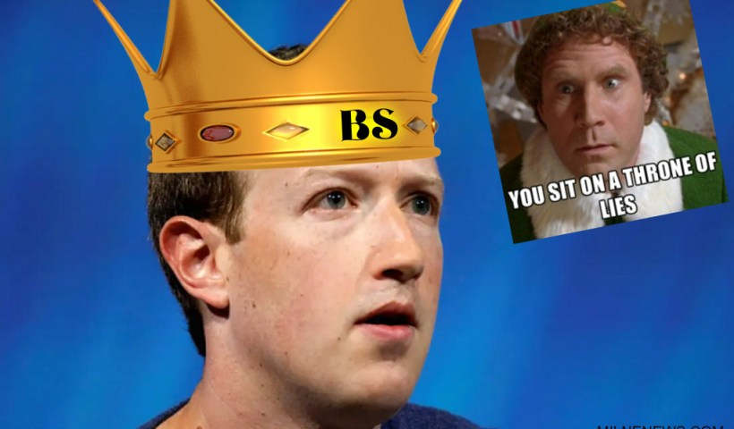King of BS Mark Zuckerberg constantly lies about Facebook's origin story