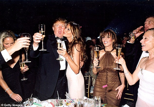 Married woman claims 'Donald Trump grabbed me by the p***y during a New Year's Eve Party'