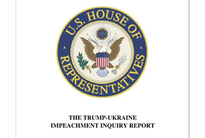House Democrats release Trump impeachment report, read it here