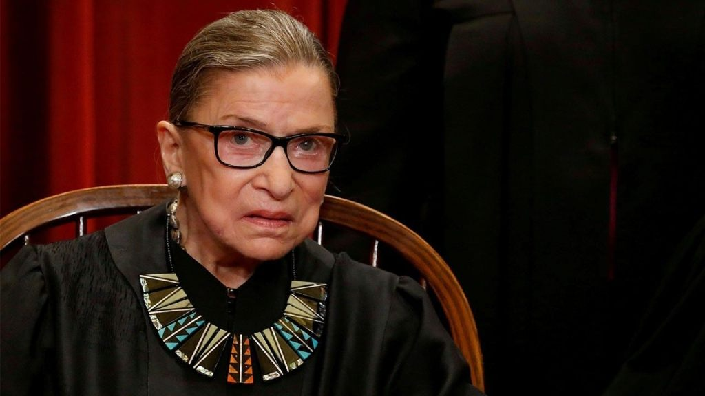 Ruth Bader Ginsberg temporarily blocks release of President Trump's financial records