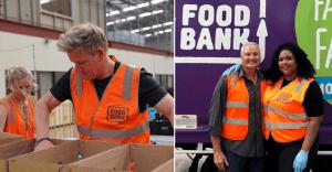 Gordon Ramsay and Lizzo volunteered at Food Bank In Australia to help bushfire victims