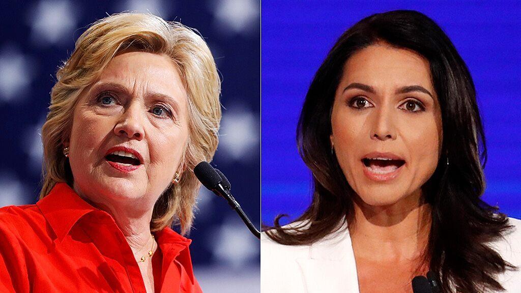 Tulsi Gabbard hits Hillary Clinton with $50 million defamation lawsuit