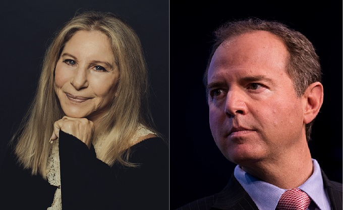 "Barbra Streisand: Adam Schiff ""speaks the truth and would make a great president"""