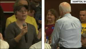 """Student Says She Was Humiliated When Biden Called Her a """"Lying Dog-Faced Pony Soldier"""""""