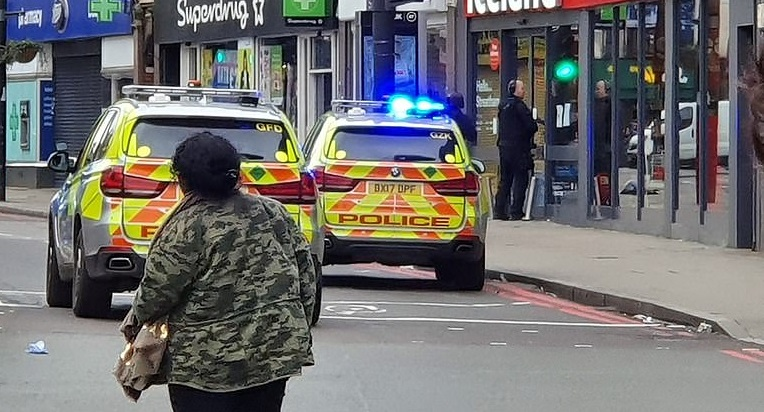 Three injured and man shot dead in south London terrorist attack