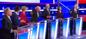 VIDEO: Dem Debate Goes Into Meltdown Mode As Candidates Scream At Each Other