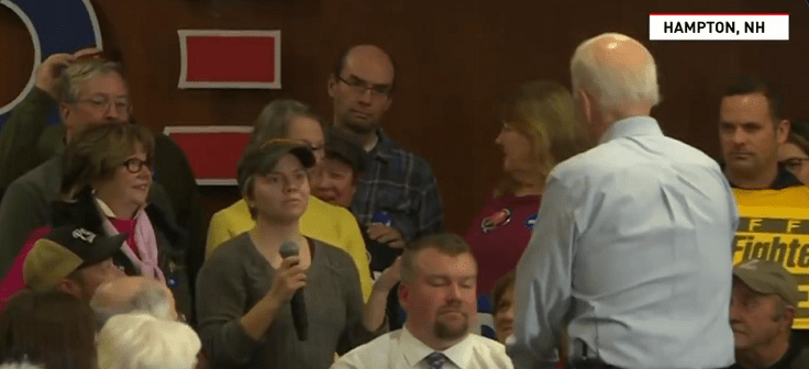 VIDEO: Joe Biden To Female New Hampshire Voter: 'You're a Lying Dog-Faced Pony Soldier'