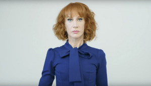 Kathy Griffin Tells Trump To Inject Himself With 'Syringe With Nothing But Air'