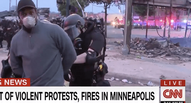 VIDEO: Minnesota Police Arrest CNN Reporter Live On-Air