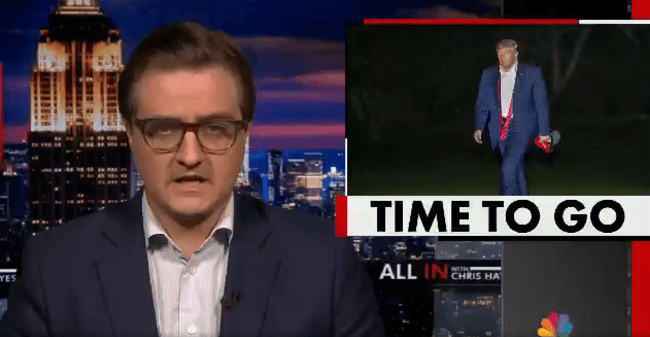 Chris Hayes Says President Trump Has Failed and Should Resign