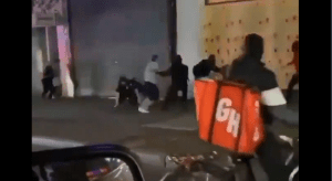 Police Officer Fends Off Rioters After They Attack Him in the Bronx