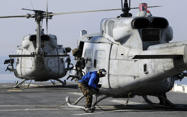 US Air Force Helicopter Shot At In Virginia, Injuring One Of Two Pilots On Board