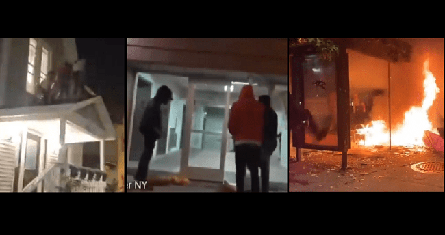 VIDEOS: Rochester, New York City See Another Night Of Chaos And Destruction