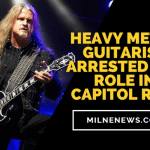 Heavy Metal Guitarist Arrested For Role In Capitol Riot