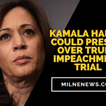 Kamala Harris Could Preside Over Trump Impeachment Trial