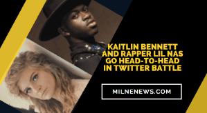 Kaitlin Bennett And Rapper Lil Nas Go Head-To-Head In Twitter Battle