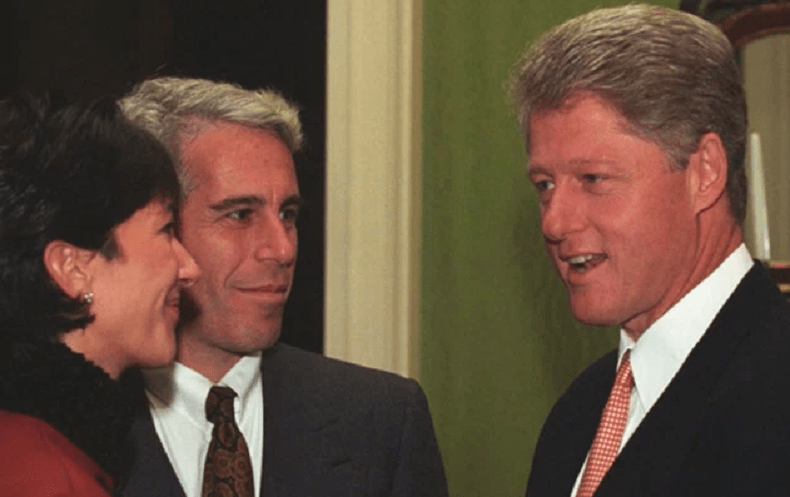New Photos Show Epstein And Maxwell Were VIP Guests At White House In 1993