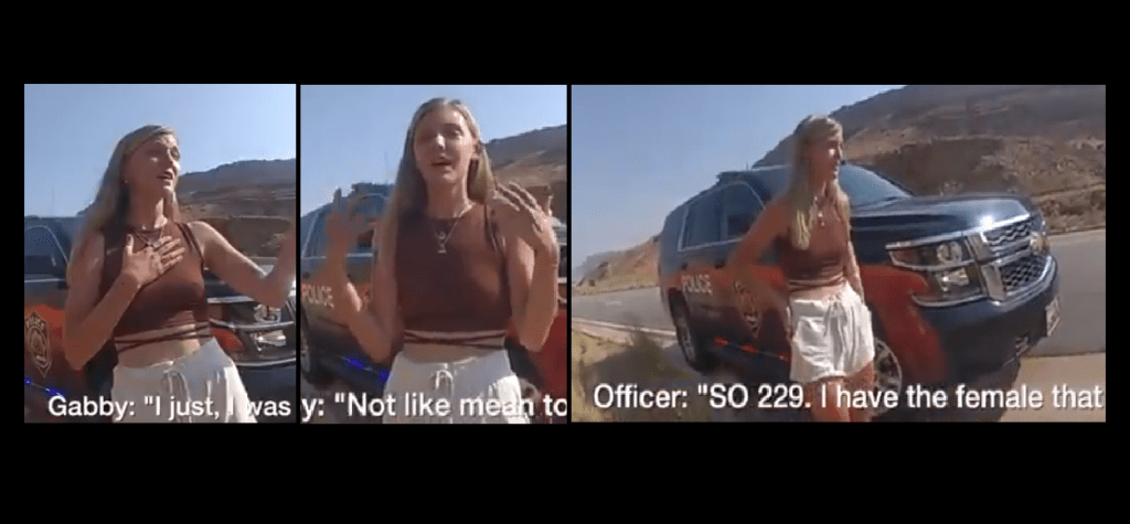 Police Release Bodycam Footage Of Gabby Petito Interaction After 911 Call