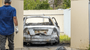 Scumbags In Mount Gambier, Australia Set Mother-Of-Four Car On Fire Because She Got COVID