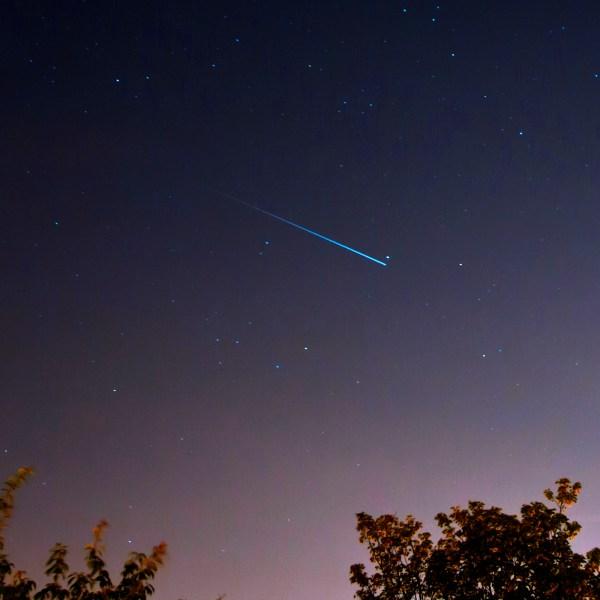 Iridium Satellite Flare
