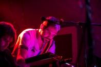 Martin Noble on keyboards